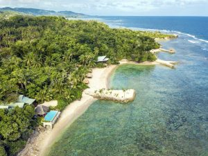 Savasi Island Resort Fiji Aerial